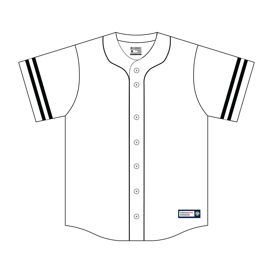 Custom Retro Solid Baseball Jersey - Premium Athletic Apparel Clubhouse Athletic
