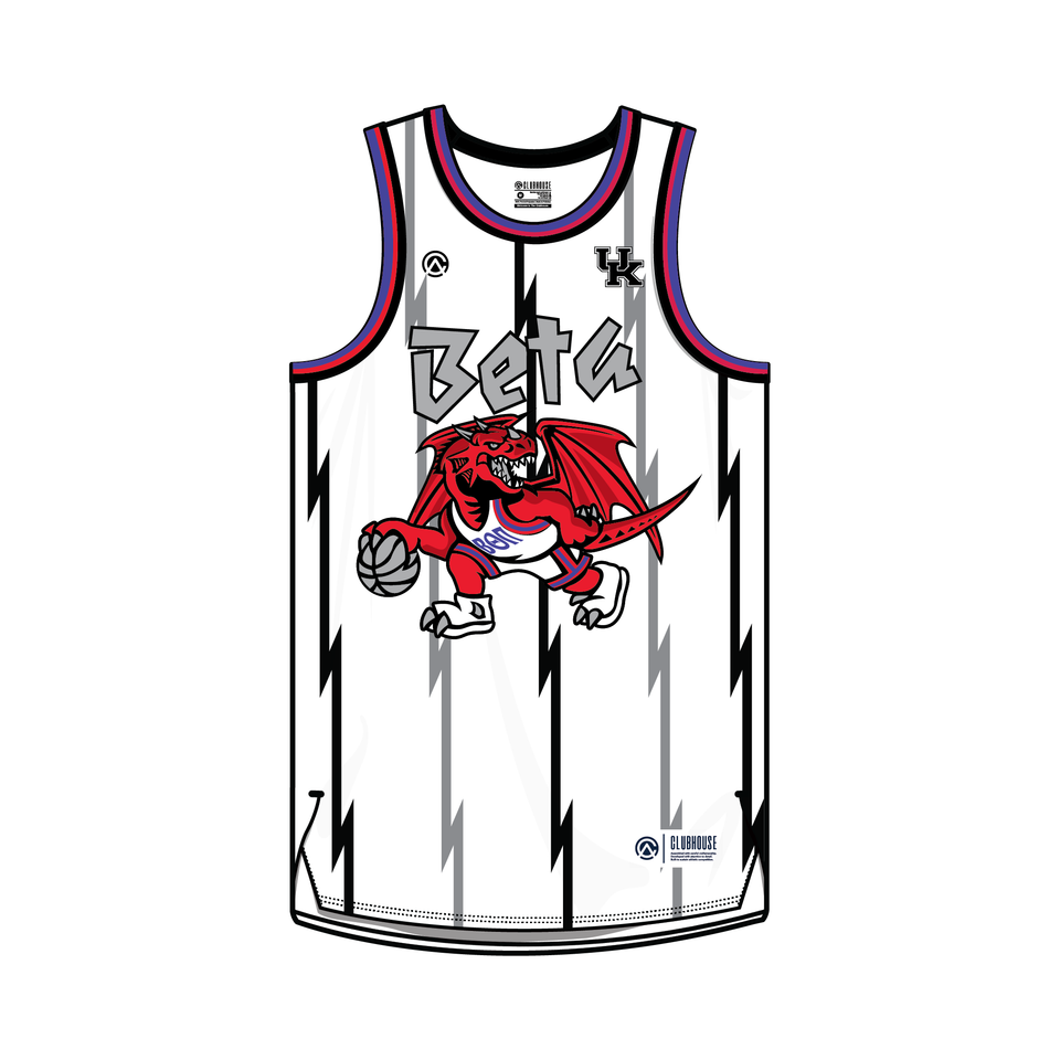 Beta Theta Pi | Kentucky Basketball Jersey - Premium Athletic Apparel Clubhouse Athletic