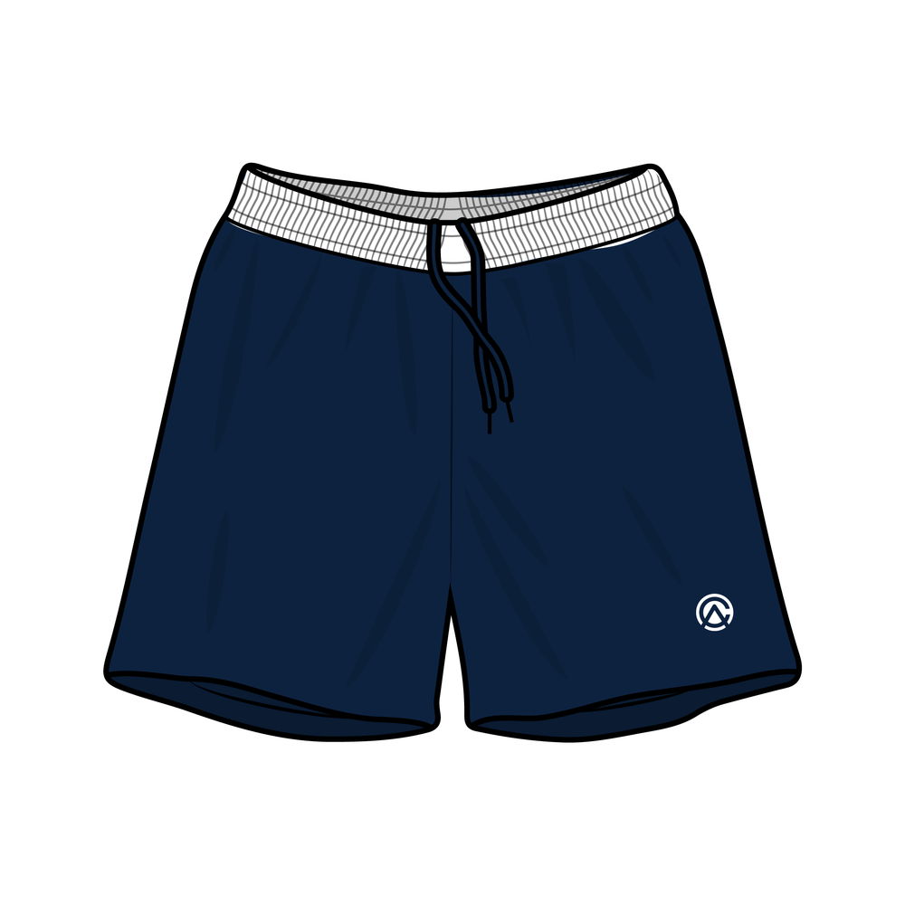 Clubhouse Contrast Band Soccer Shorts