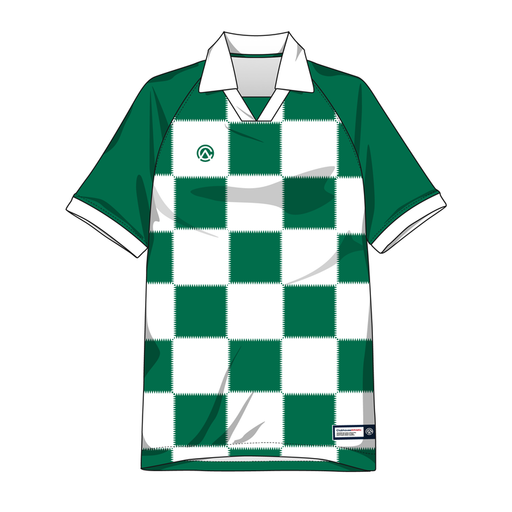 Clubhouse Electric Checker Custom Soccer Jersey - Premium Athletic Apparel Clubhouse Athletic