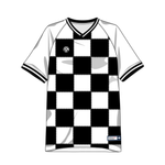 Clubhouse Electric Checker Custom Soccer Jersey