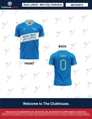 Mint City Collective Jersey - Clubhouse Athletic