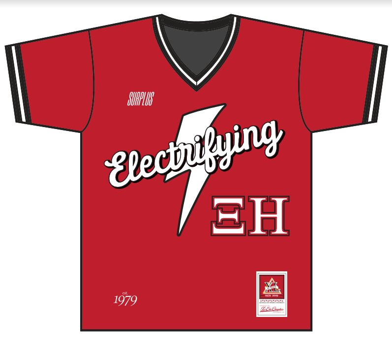 Electrifying Baseball Jersey - Premium Athletic Apparel Clubhouse Athletic