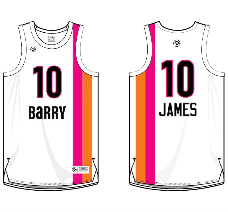 Barry Basketball Jerseys - Premium Athletic Apparel Clubhouse Athletic