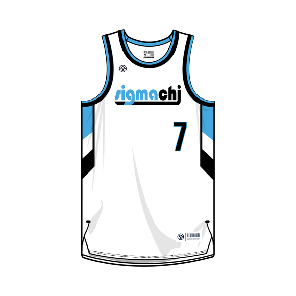 Sigma Chi Basketball Jersey - Premium Athletic Apparel Clubhouse Athletic
