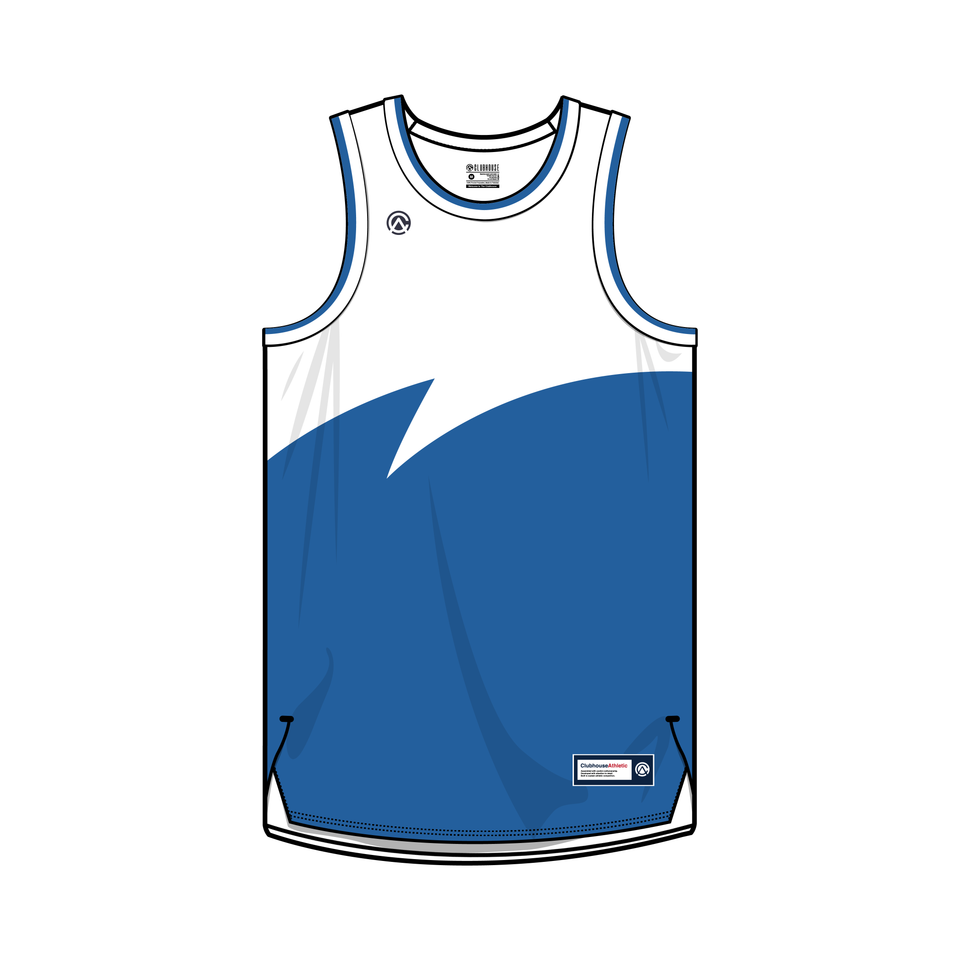 Sharktooth Custom Basketball Jersey - Premium Athletic Apparel Clubhouse Athletic