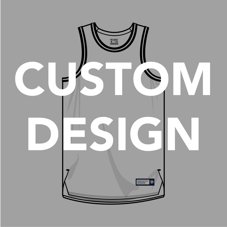 Custom Design Basketball Jersey - Premium Athletic Apparel Clubhouse Athletic