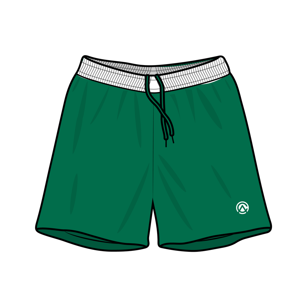 Clubhouse Contrast Band Soccer Shorts - Clubhouse Athletic