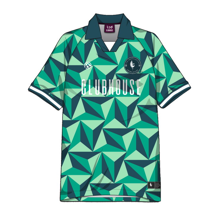 Clubhouse Custom Geometric Soccer Jersey - Premium Athletic Apparel Clubhouse Athletic