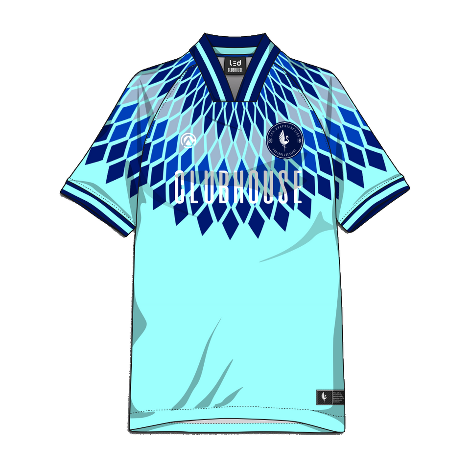 Custom Diamond Team Soccer Jersey - Premium Athletic Apparel Clubhouse Athletic