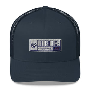 Clubhouse Badge Trucker Cap - Clubhouse Athletic