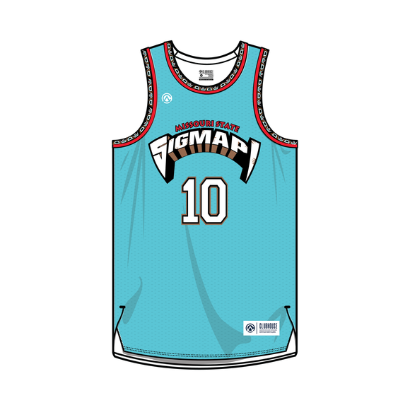 Sigma Pi | Missouri State Basketball Jersey - Premium Athletic Apparel Clubhouse Athletic