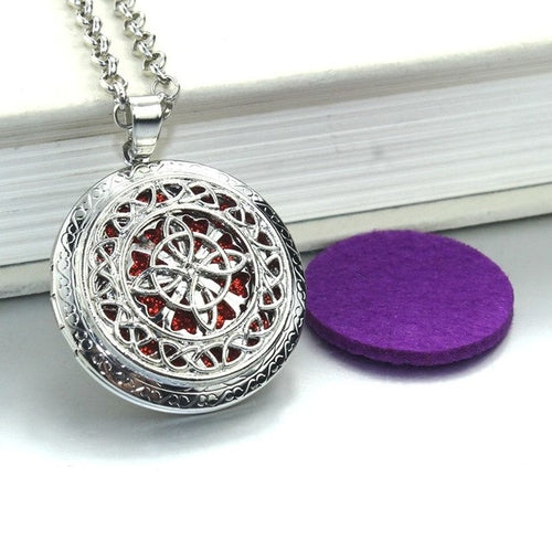 Aroma Locket -  Essential Oil Necklace