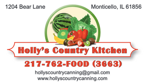 Holly's Country Canning