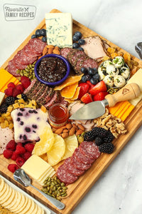 Charcuterie Meat, Cheese, & Fruit Tray