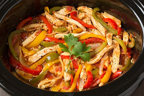 Crockpot Freezer Prep-Chicken Fajitas