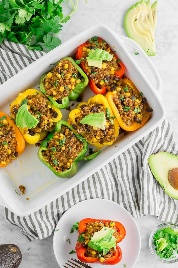 Diabetic - Beef and Quinoa Stuffed Peppers