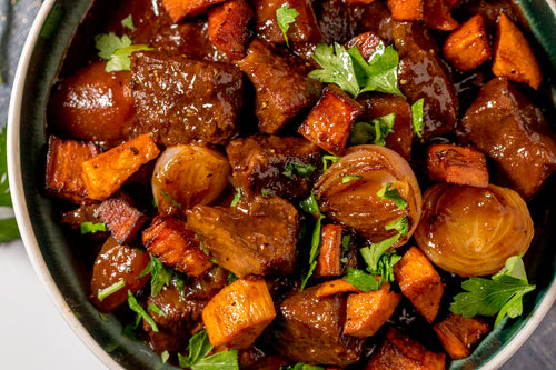 Diabetic - Beef and Sweet Potato Stew