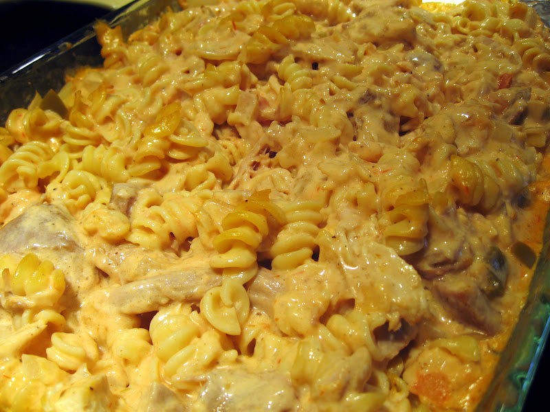 Oven Freezer Prep-Mexican Chicken Alfredo