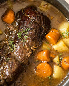 Crockpot Freezer Prep-Family Style Pot Roast