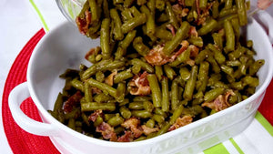 "Freezer Prep - Sides - ""Crack"" Green Beans"