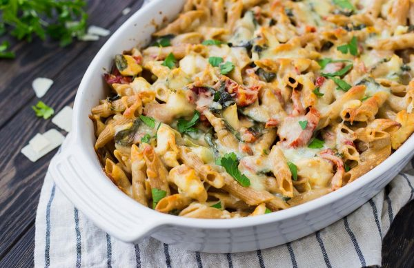Oven Freezer Prep-Tuscan Chicken Penne