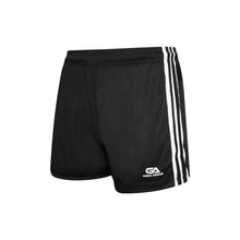 Load image into Gallery viewer, GAA Official Match Shorts Black White