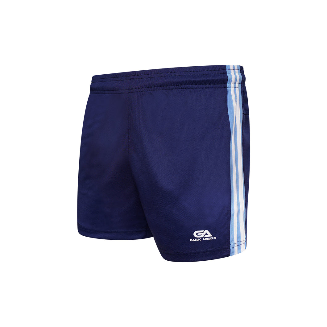GAA Official Match Shorts Navy Sky