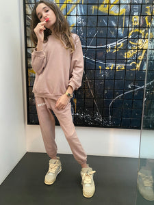 Set sweatshirt - jogging old Pink