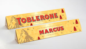 Christmas Edition Milk Chocolate Toblerone
