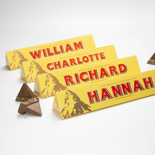 360g Toblerone with Personalised Sleeve with Free Shipping