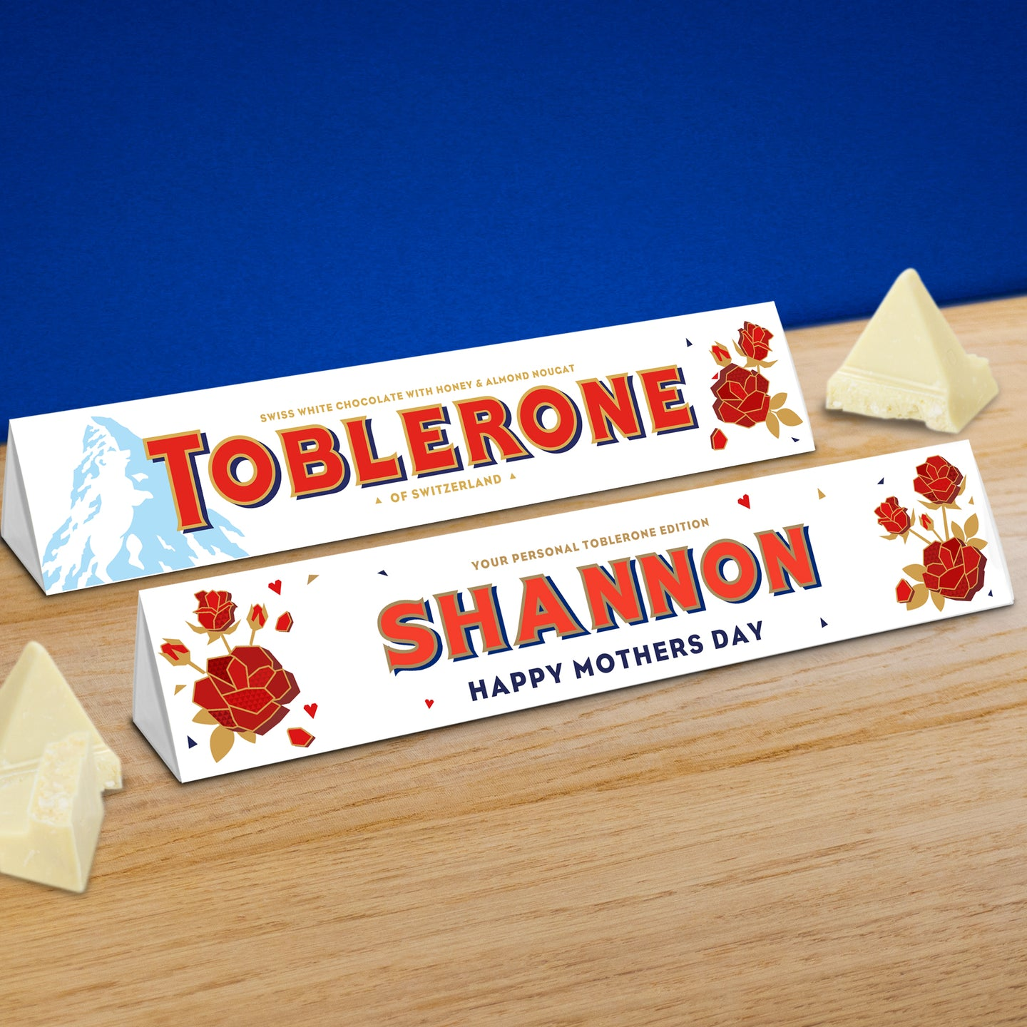 360g White Chocolate Mother's Day Toblerone