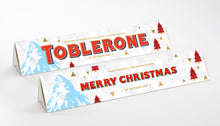 Load image into Gallery viewer, 360g Xmas Edition White Chocolate Toblerone