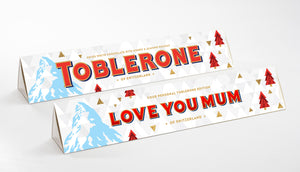 360g Xmas Edition White Chocolate Toblerone