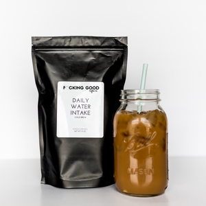 Daily Water Intake Cold Brew Packs