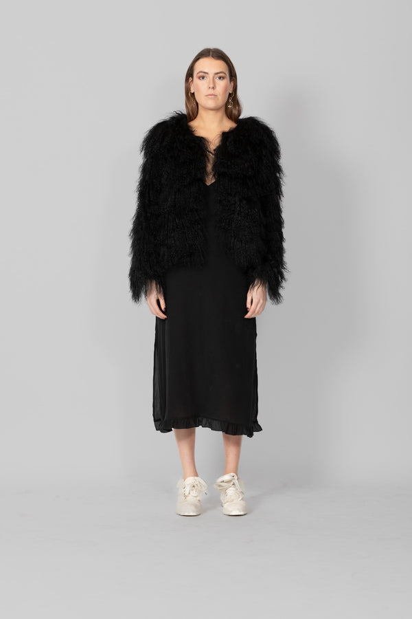 MULTI FUR JACKET