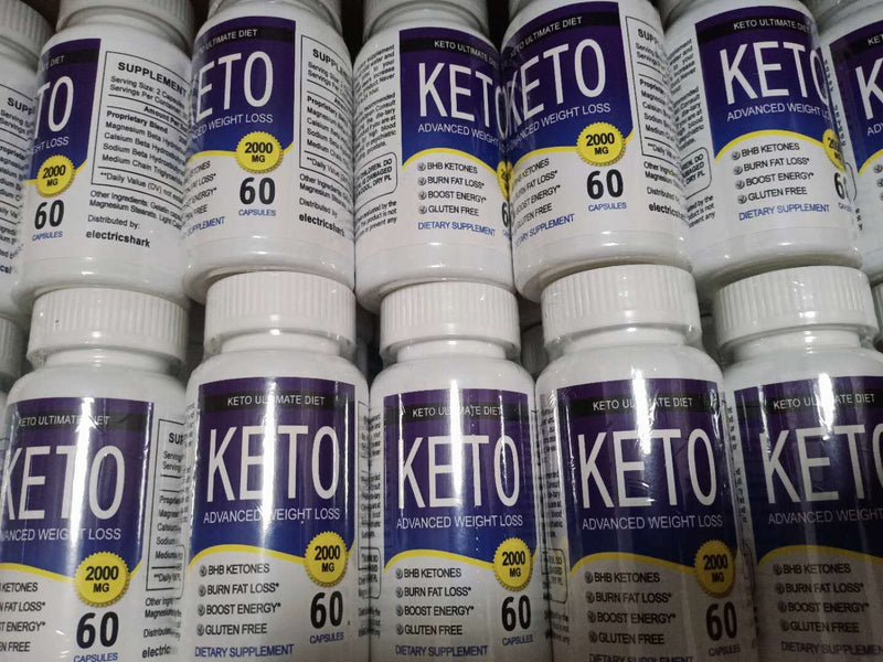 KETO Weight Loss Slimming 2000 MG 60 Capsule, bhb salts fast weight loss pills