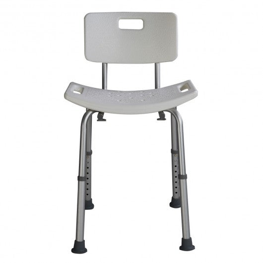 6 Height Medical Bath Stool with Backrest