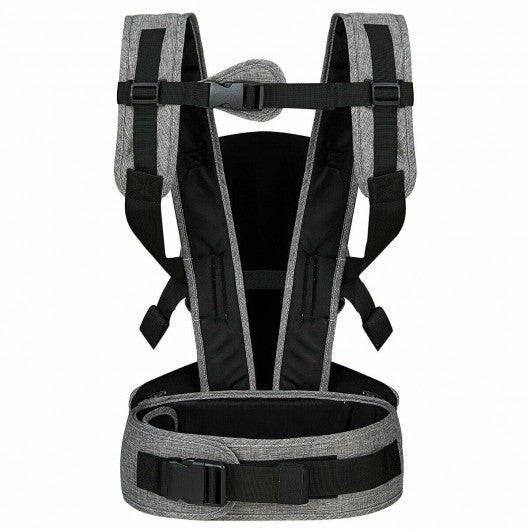 4-in-1 Ergonomic Convertible Baby Carrier with Adjustable Buckles