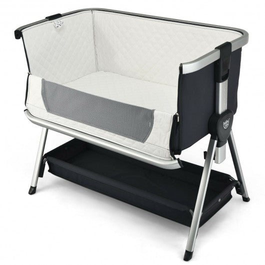 Breathable Baby Bed Side Crib  Adjustable Sleeper Bedside Bassinet