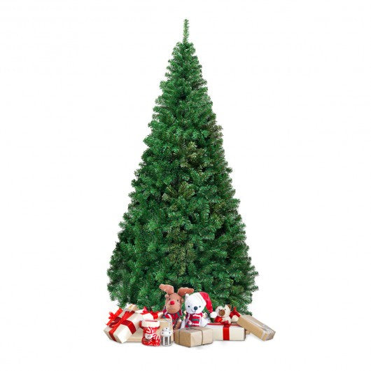 7 Ft Green PVC Artificial Christmas Tree
