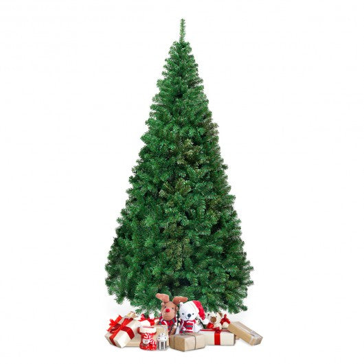 8 Ft Green PVC Artificial Christmas Tree