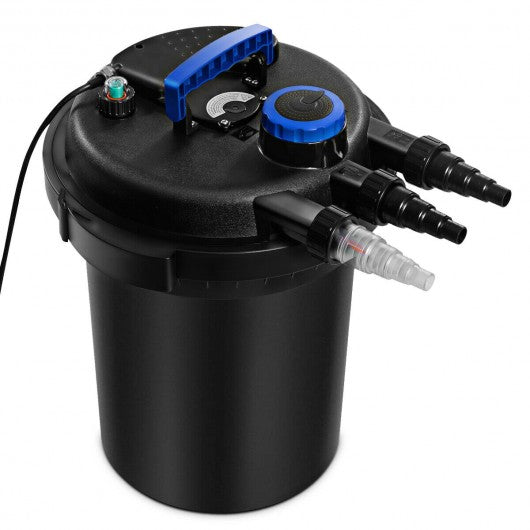 4000GAL Pond Pressure Bio Filter with Light