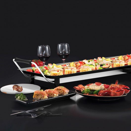 Electric Teppanyaki Table Top Grill Griddle