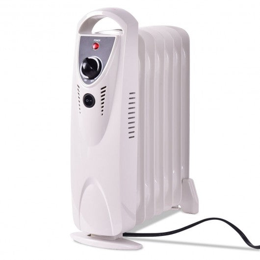 Portable 700 W Mini Electric Oil Filled Radiator Heater