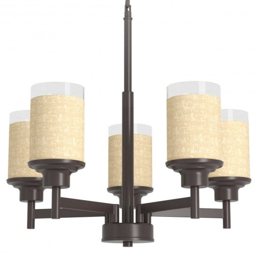 Elegant Modern Ceiling 5 - Light Pendant Chandelier