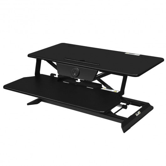 Electric Height Adjustable Standing Desk Coverter