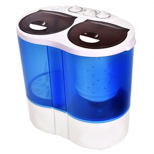 Portable Compact Twin Tub Mini Washing Machine