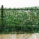 "Faux Ivy Leaf Decorative Privacy Fence-40"" x 95"""