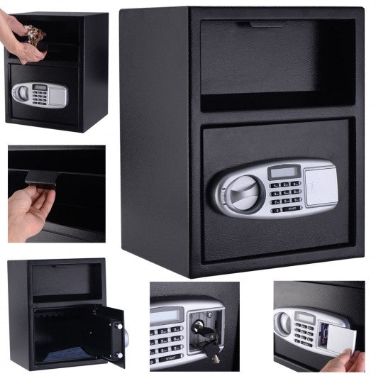 Digital Deposit Safe Box Depository Front Load